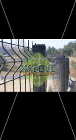Panele ogrodzeniowe 3D, wys. 1,23m, fi4mm, panel, ogrodzenie panelowe
