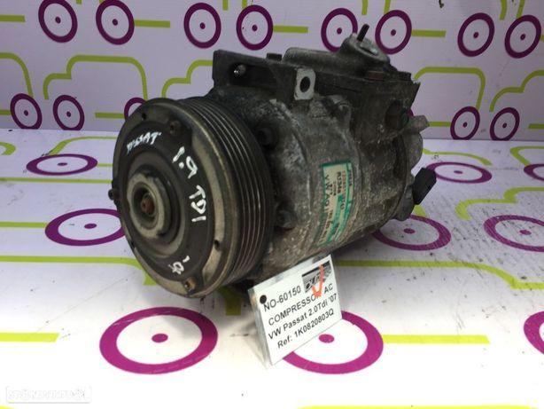 Compressor AC VW Passat 2.0TDi 140Cv de 2007 - Ref: 1K0820803Q- NO60150