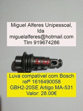 LUVAS Porta-Ferramentas Bosch GBH2-20/GBH2-26/GSH11E/GBH2-24/D25900