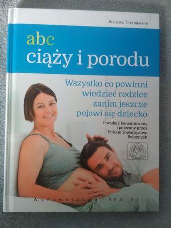Książka poradnik Abc ciąży i porodu