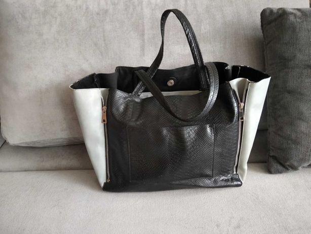 Reserved duża torebka torba bag okazja
