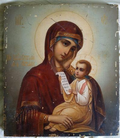 """Икона,,Утоли моя печали"""".Старинная.19век.Ікона Божої матері старовинна"""