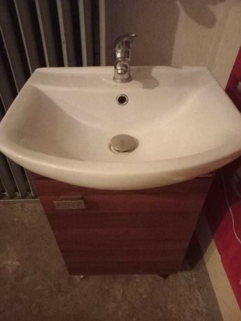 Szafka z umywalka 50