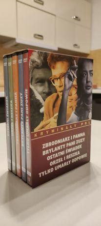 Kryminały PRL zestaw DVD