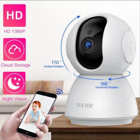 Câmera vigilância bebê