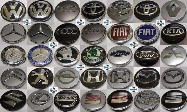 Колпачки заглушки Bmw Audi VW Mercedes Skoda Ford Toyota Mazda Honda
