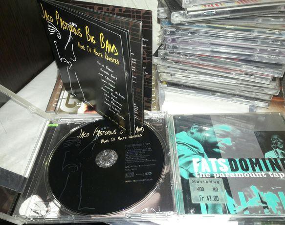 """Аудио CD - Джаз,рок,поп музыка """"Jaco Pastorius"""", Fats Domino"""".и др."""
