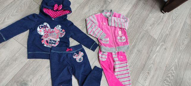 Zestaw dla dziewczynki 86-92 mega paka ubranka.