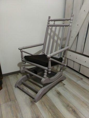 Antyk Eklektyczny fotel bujany krzesło Vintage Okazja