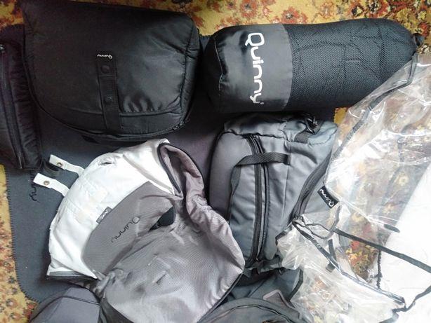 Wózek Quinny Buzz 3w1 nosidełko Maxi Cosi + akcesoria