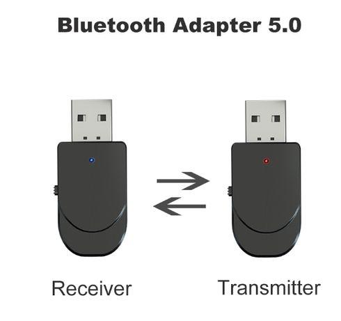 Адаптер Bluetooth 5.0 аудио приемник-передатчик KN330 2в1 блютуз
