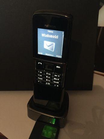 Nokia 8800 tytan Sirocco Edition pełen zestaw