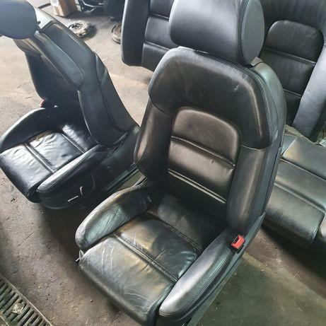 Audi A8 D3 fotel fotele sport skóra komplet wyprzedaż