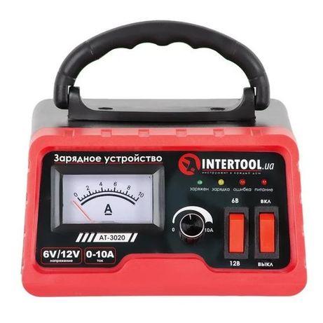 Зарядное устройство для автомобильного аккумулятора 6/12В, AT-3020