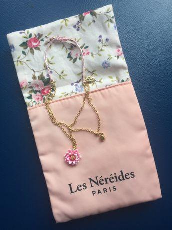 Позолоченный браслет «Les Nereides Paris» НОВЫЙ В ПОДАРОЧН УПАК