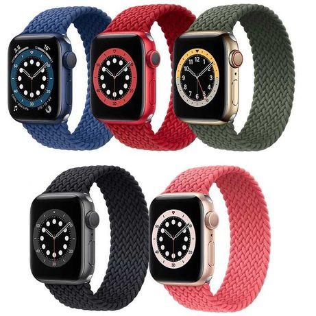 Ремешок Braided Solo Loop для Apple Watch series 7-1 Эппл вотч соло