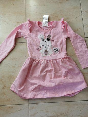 Sukienka różowa 116