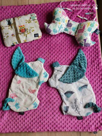 Kocyk poduszka i motylek Anna Mucha
