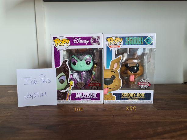Funko Pop Maleficent  e Scooby-Doo