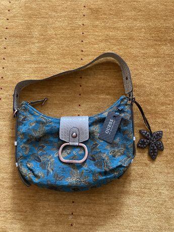 Mala azul/prateado marca Guess - nova com etiqueta