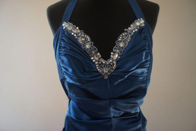 Maxi Sukienka 36 S 34 XS suknia 36 S 34 XS Morska na wesele