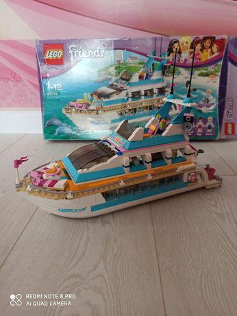 Lego friends для девочек корабель яхта лего круизный лайнер