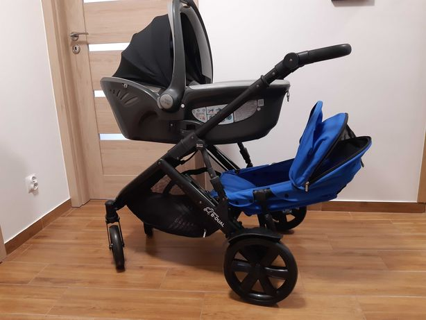 Britax b-dual wózek rok po roku