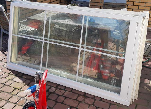 Okna z demontażu bez ramy