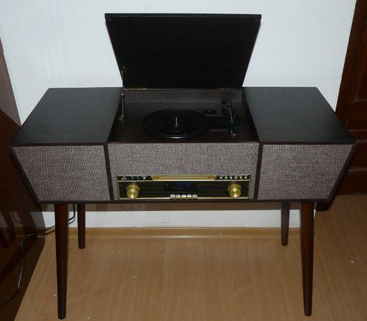 Ретро проигрыватель Винил Германия CD, BT,USB,FM Столик Стиль 1912