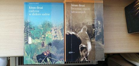 Kiran Desai Zadyma w dzikim sadzie Brzemię rzeczy utraconych 2 książki