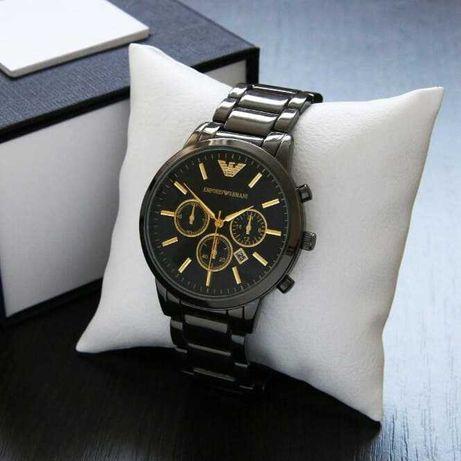 Мужские наручные часы Армани Emporio Armani .Металлические часы