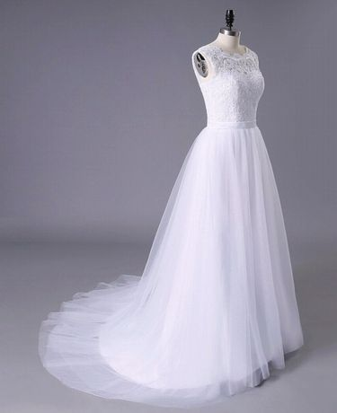 Suknia sukienka ślubna biała