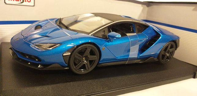 1/18 Lamborghini Centenário azul - Maisto