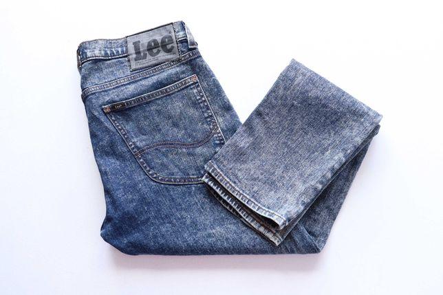 Unikatowe spodnie jeansy Lee Luke W31 L32  Skinny slim fit jak nowe