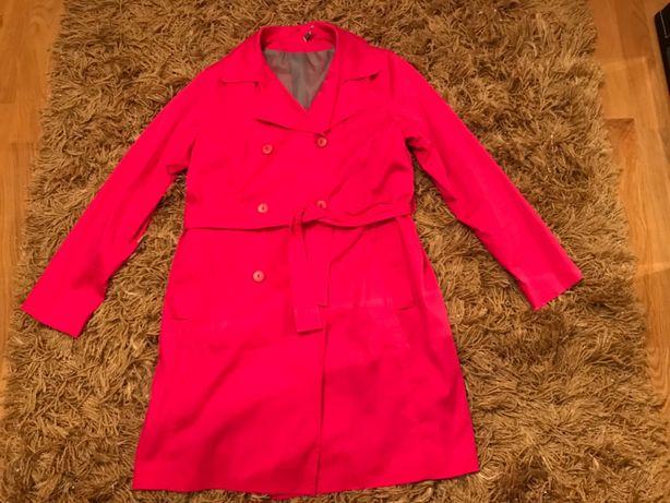 Różowy płaszcz rozm. 44