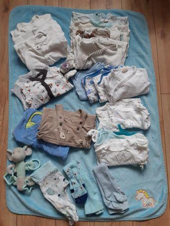 Paka dla chłopca 56-62, ubranka dla chłopca, wyprawka