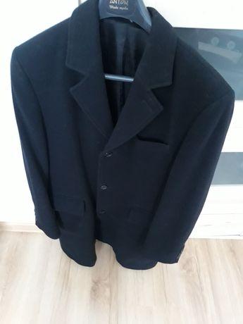 Płaszcz męski czarny rozmiar 50