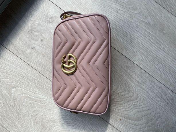 Gucci różowa torebka  M
