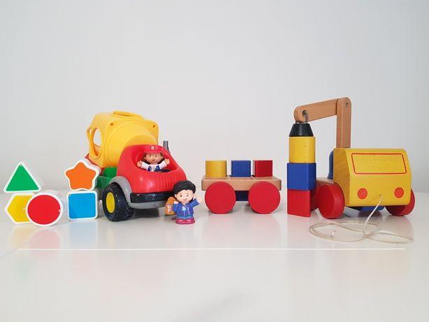 Zestaw betoniarka i dźwig IKEA dla dziecka
