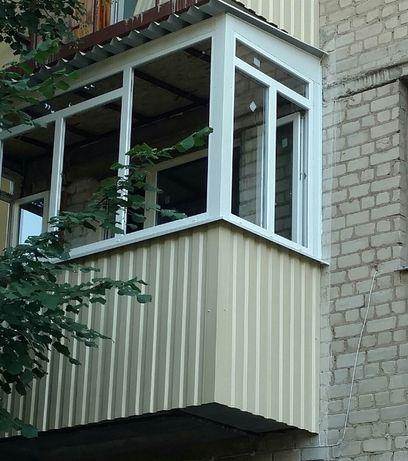 Балконы под ключ, расширение балкона, француз, окна, двери