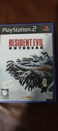 Resident Evil Outbreak PS 2