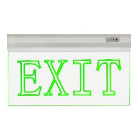 Светодиодная вывеска EXIT (выход)