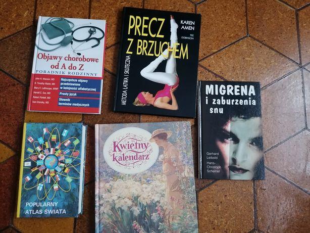 Książki różne - migrena, atlas