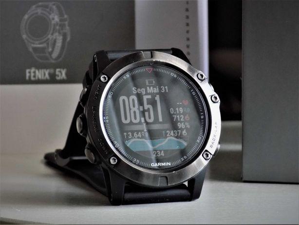 Relógio desportivo Garmin Fenix 5x Saphire