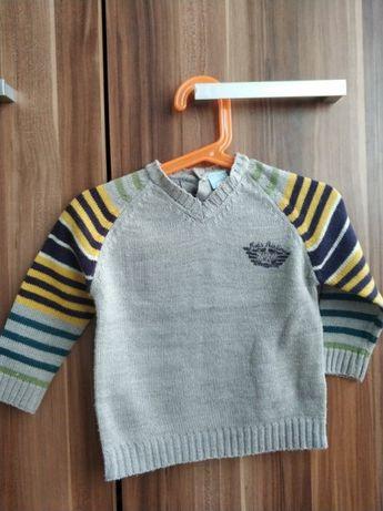Sweterek chłopięcy