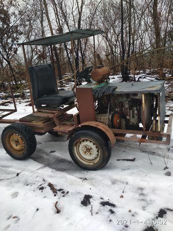 Самодельный трактор обмен.