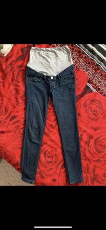 Spodnie ciążowe jeansowe 34