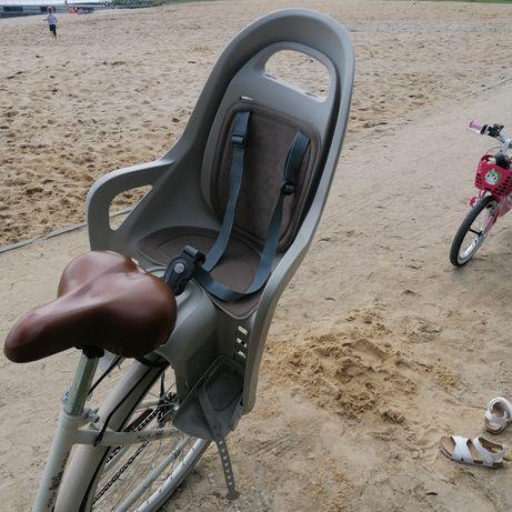 Fotelik rowerowy polisport.