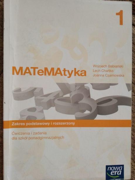 MATeMAtyka 1 zakres podstawowy i rozszerzony, Nowa Era