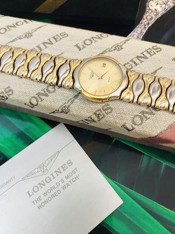 Эксклюзив! Швейцарские часы LONGINES 400. Раритет